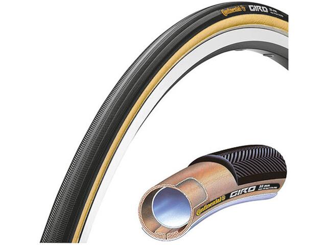 "Continental Giro Tube Tyre 28"" black/transparent skin"